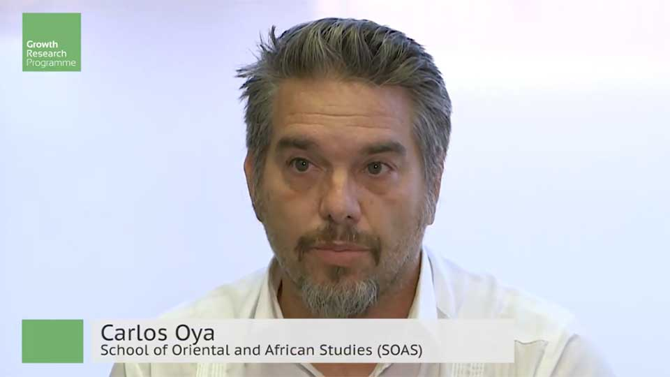 Professor Carlos Oya: How Can Chinese Companies Create More and Better Jobs for Africans?