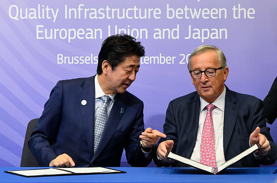 Japan the EU Sign an Ambitious Deal to Build Infrastructure in the Developing World With an Eye on Countering China