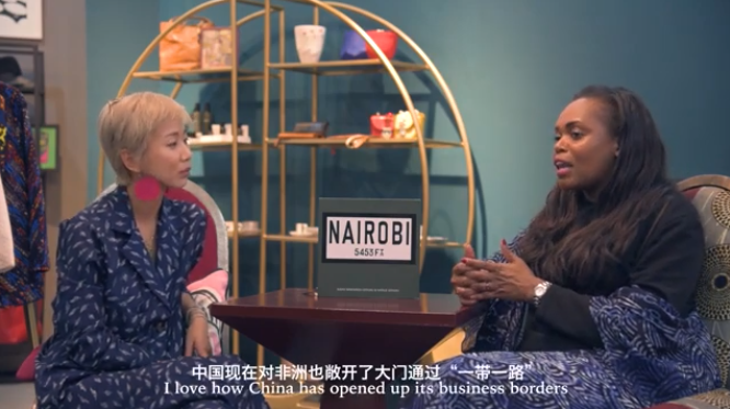 Chinese Vlogger Zhao Huiling Showcases How African Fashion Brands Can Compete Internationally