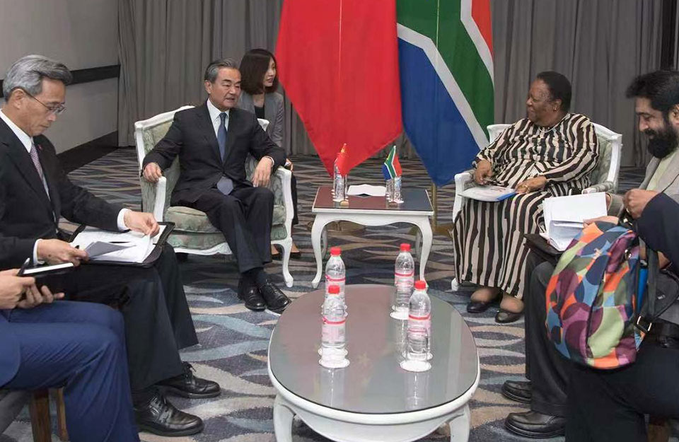 Wang Yi's Quick Visit to South Africa Highlights How SA is Now China's #1 BFF in Africa