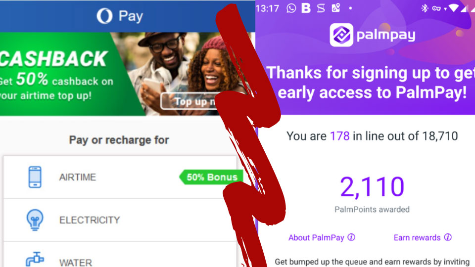 OPay and PalmPay: Two Chinese-Backed Investments Battle it Out in Africa's Rapidly Growing Mobile Payment Market