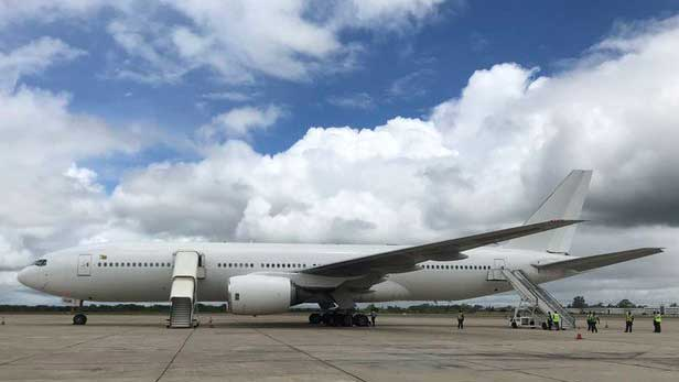 Zimbabwe Takes Delivery of Used B777 With Hopes to Launch New Direct Flights to China