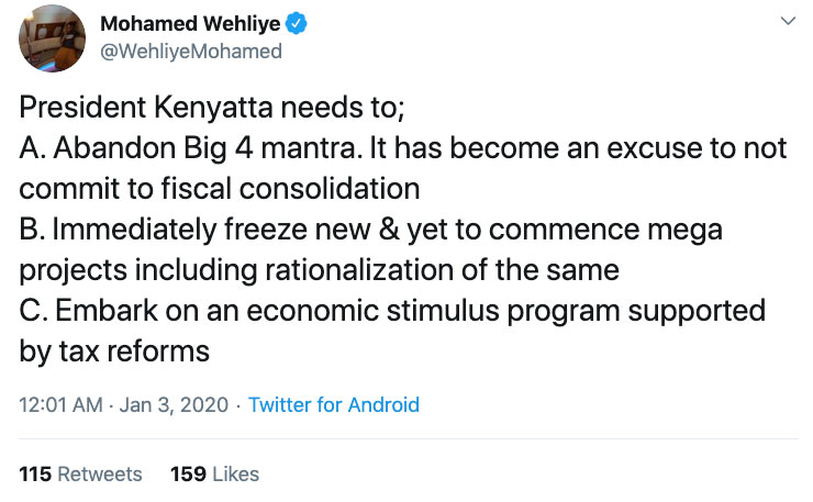 """""""All the Numbers Point to an Unfolding Debt Nightmare"""" in Kenya"""