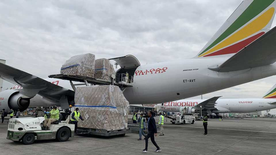 Millions of Masks and COVID-19 Test Kits Donated by Alibaba's Jack Ma Arrive in Africa