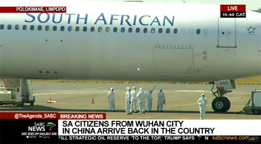 Evacuees From Wuhan Thrilled to Finally be Home But South Africans Divided Over Whether it Was Worth the Risk