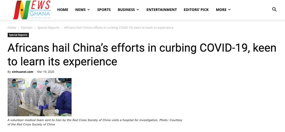 China Leveraging Its Deeply-embedded Media Ties in Africa to Tell its COVID-19 Aid Story