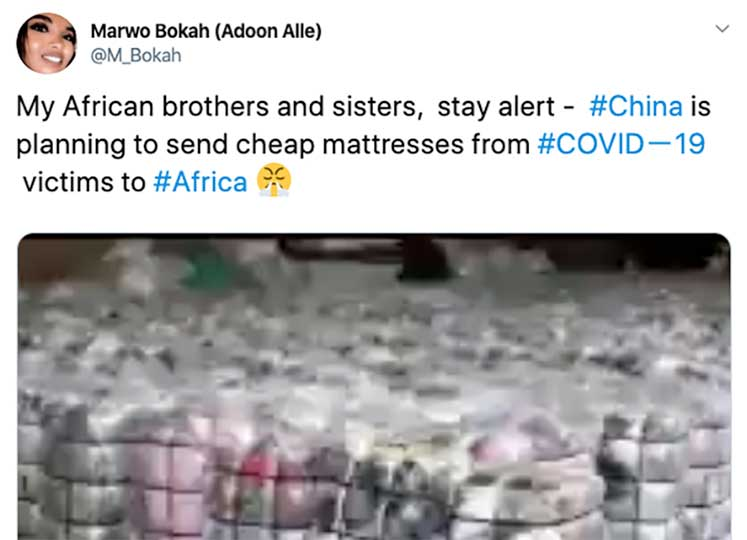 Fake COVID-19 News and Misinformation Now Rampant on African WhatsApp Channels and Social Media