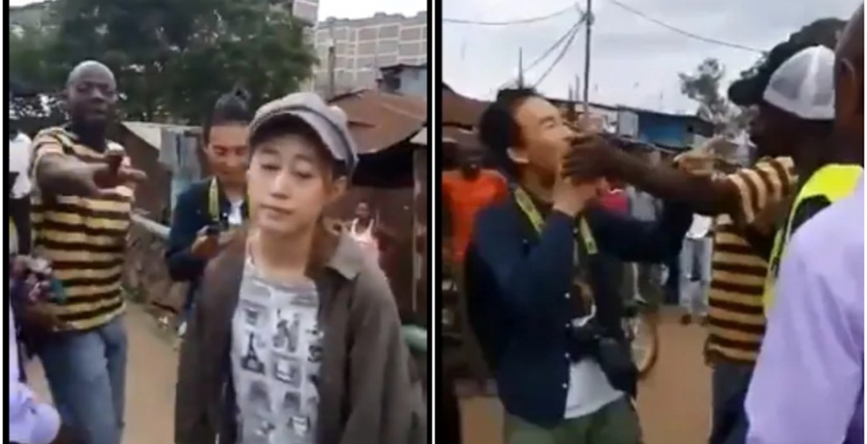 This Week's Viral Video of Two Chinese People Being Harassed in Kenya Sparks an Unusual Response on Twitter: Sympathy