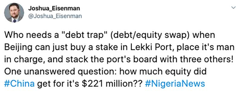 """Professor: Who Needs """"Debt Traps"""" When China Can Just Buy African Assets on the Cheap?"""