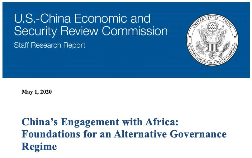 U.S. Congressional Commission Releases New Report on Chinese Engagement in Africa