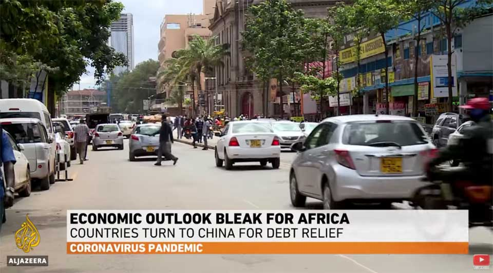 Al Jazeera: African Countries Turn to China for Debt Relief