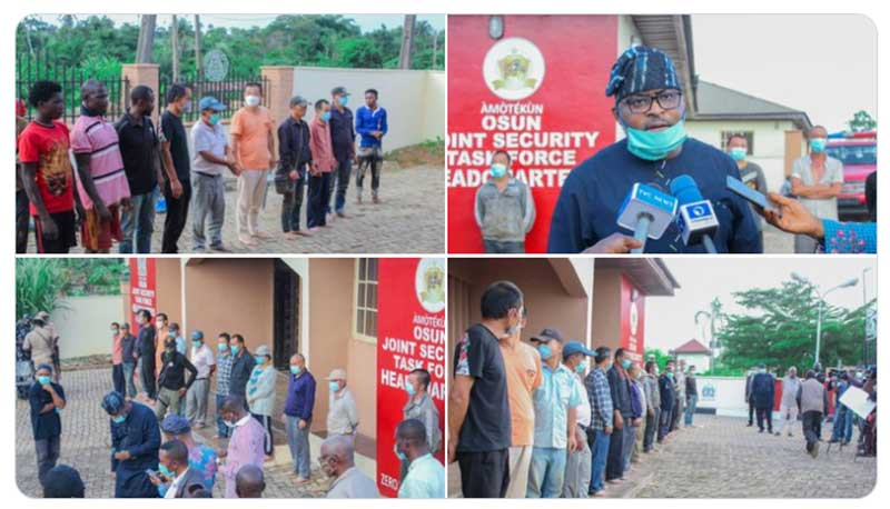 New Details, Photos Emerge Following Osun State Raid on an Allegedly Illegal Chinese Mining Operation