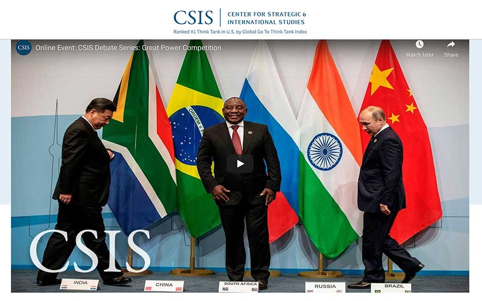 Reflections on the Coming Era of Great Power Competition in Africa