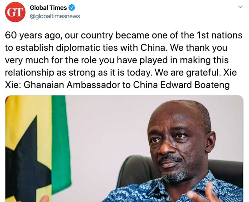 As China's International Relations Become Increasingly Fractious, Friendly Ties With Small Countries Like Ghana Gain Importance