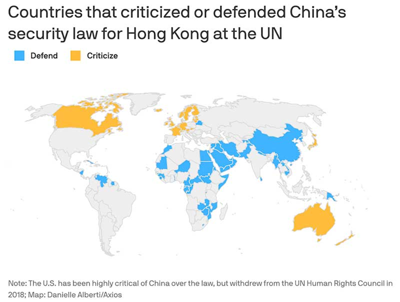 The UN Human Rights Council Statement on Hong Kong Highlights Why African Countries Are Becoming Increasingly Important to China