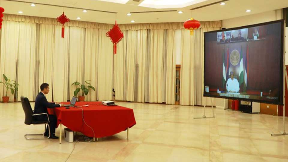 Buhari: China Reversing Nigeria's Infrastructure Deficit