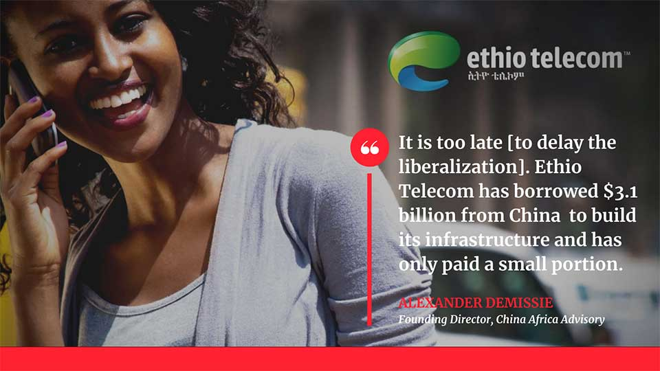 With Chinese Loans Coming Due, Ethiopia Moves Forward With Ethio Telecom Privatization Plan