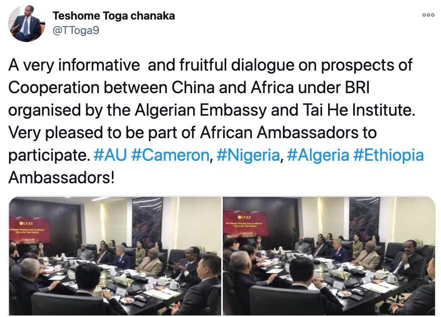 African Diplomats in China Are Spending a Lot More Time These Days Talking About The Belt and Road Initiative
