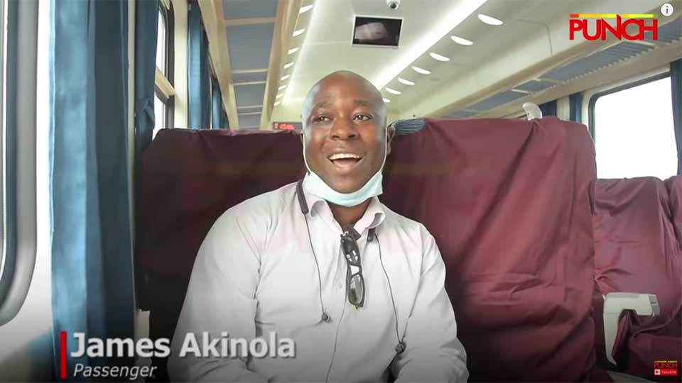 Nigerians Share First Impressions of The New Chinese-Built Lagos to Ibadan Railway