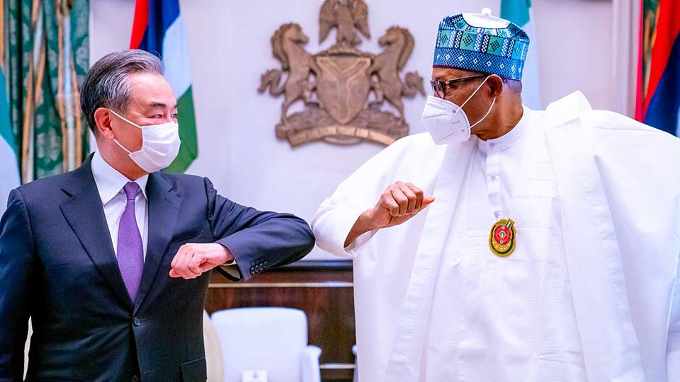 After Upbeat Meeting With President Buhari, Wang Yi Leaves Nigeria For the DR Congo