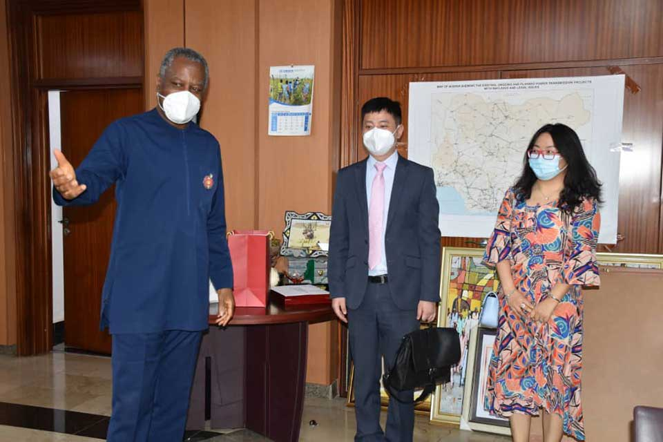 While Wang Yi is in Town, Nigeria FM Also Meets With Huawei Delegation