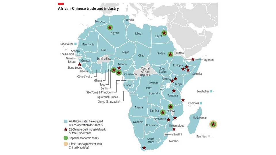 The Economist Intelligence Unit Mapped Out Chinese Trade and Investment in Africa
