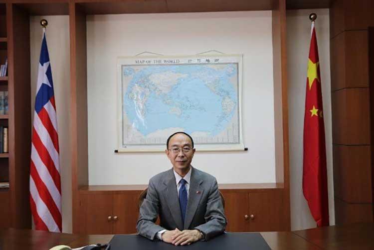"Chinese Ambassador to Liberia Attacks U.S. Over Media ""Lies"" and ""Fake News"""