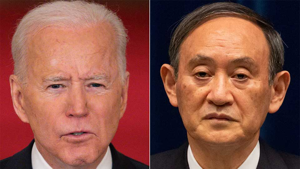 """U.S. Is Apparently Determined to See if It Can Build a """"Belt & Road Alternative."""" Biden to Discuss With Suga Next Week in DC."""