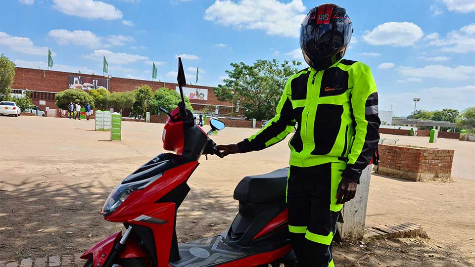 After Living in China For 6 Years, This Female Entrepreneur Returns Home to Launch Zimbabwe's First All-Women-Owned E-Scooter Delivery Business