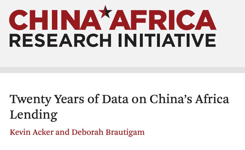 """New CARI Report on Chinese Lending to Africa Doesn't """"Tell the Whole Story"""" Says Well-Known Chinese Analyst"""