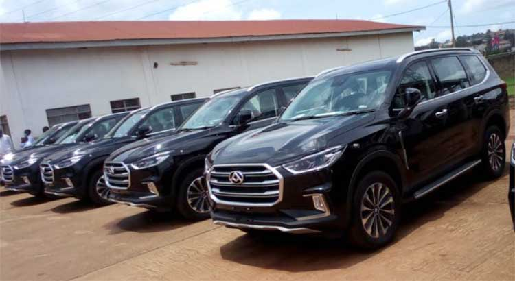 China Donates a Fleet of SUVs to Uganda For an International Conference That Never Happened