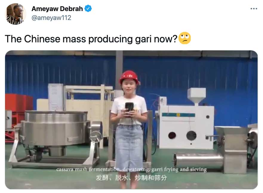 Why This Chinese Factory Video is Causing Quite a Stir on Social Media in West Africa