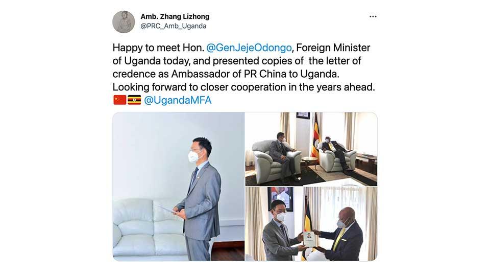 Beijing's New Man in Kampala