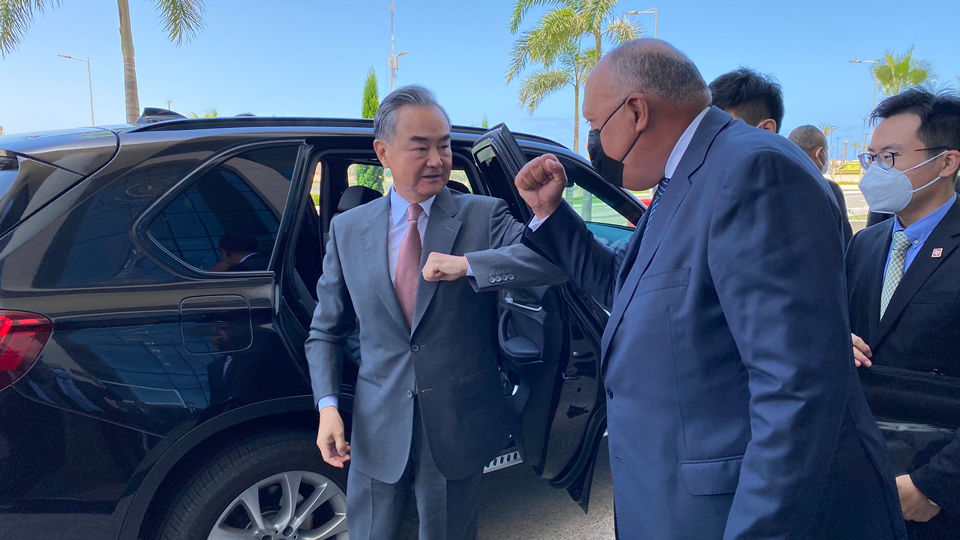 Chinese Foreign Minister Wang Yi on Three-Nation 4-day MENA Tour