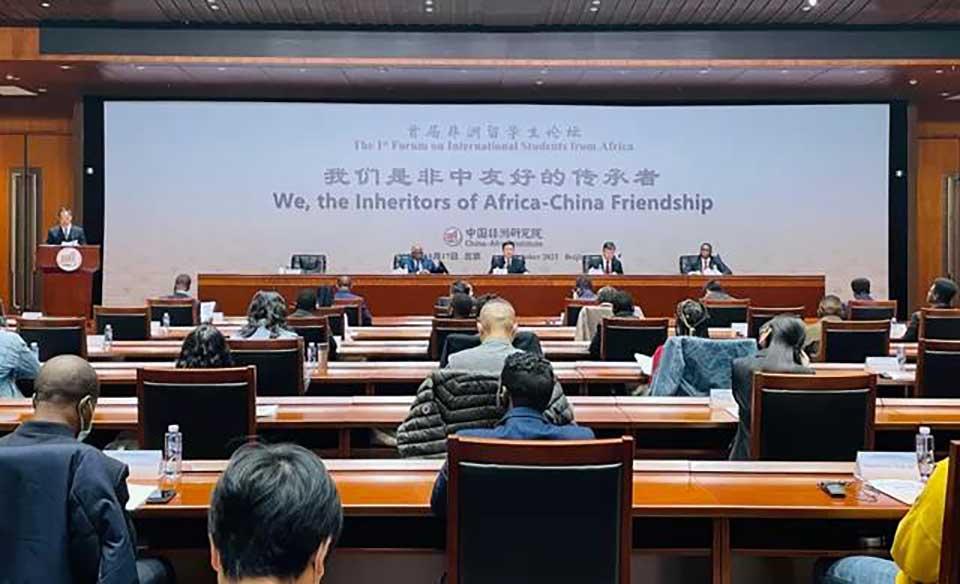 First-Ever African Students Forum Convenes In Beijing