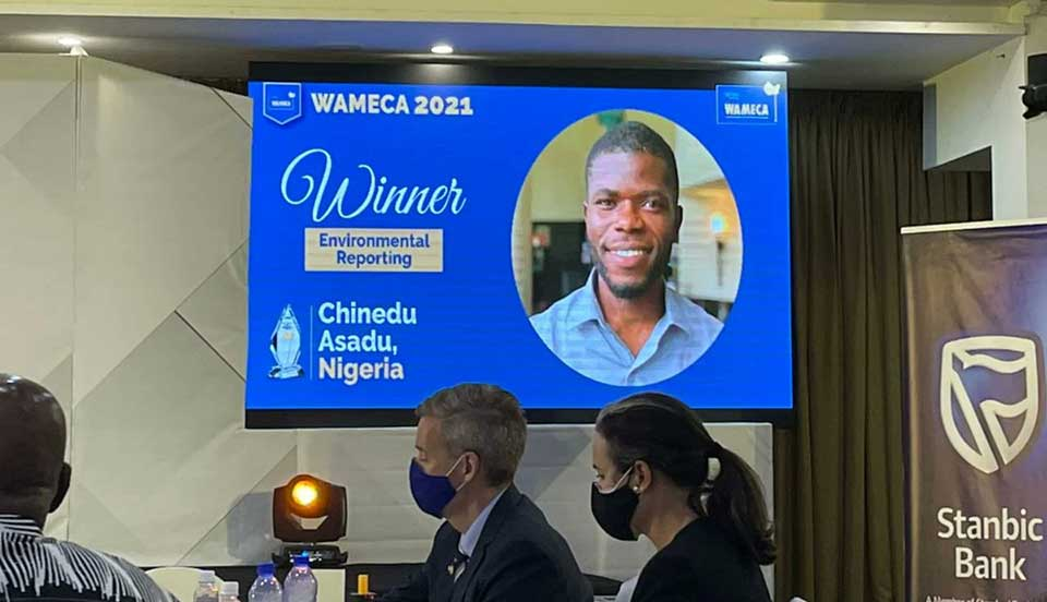 Nigerian Journalist Wins West African Reporting Prize For Coverage of Illegal Chinese Mining