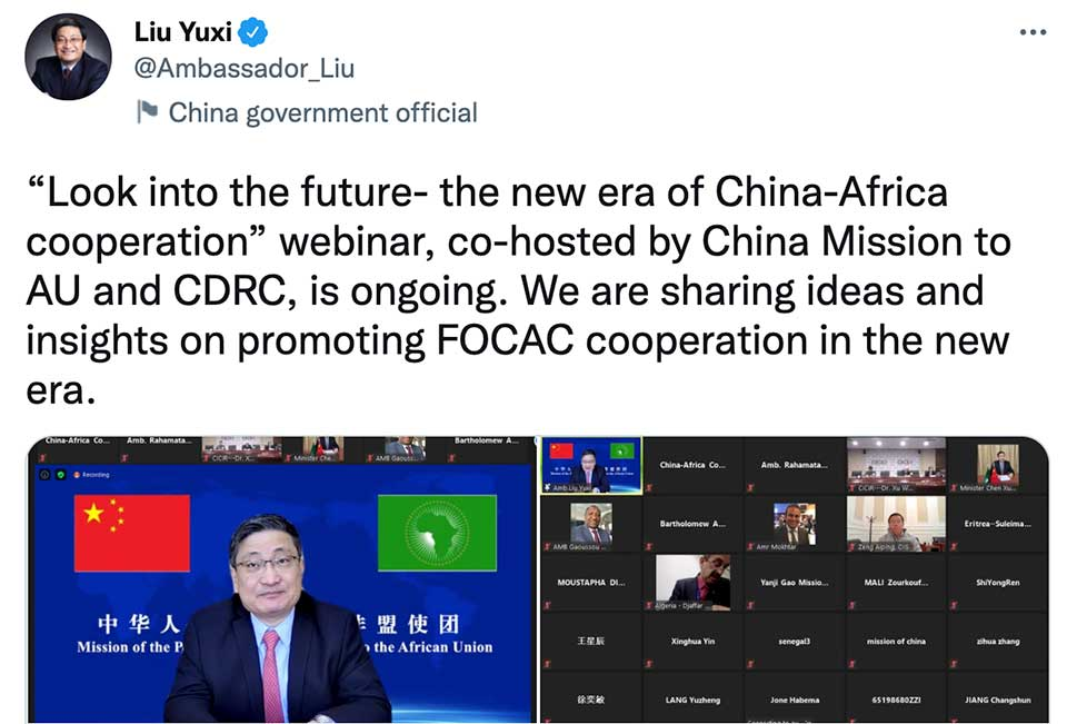 China's African Union Ambassador Previews Some of the Themes That Will be Raised at the Upcoming FOCAC Summit