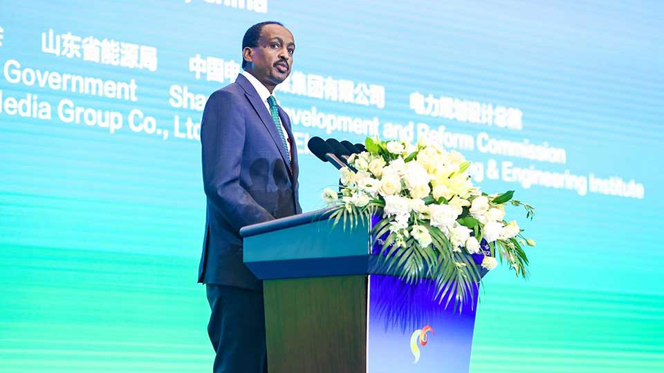 Belt and Road Energy Conference Opens in Qingdao, Ethiopia's Ambassador to China Among First Day Speakers