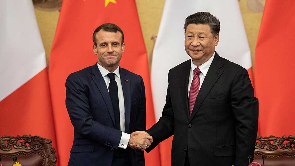 In Phone Call With Macron, Xi Pursues Trilateral Development Cooperation in Africa
