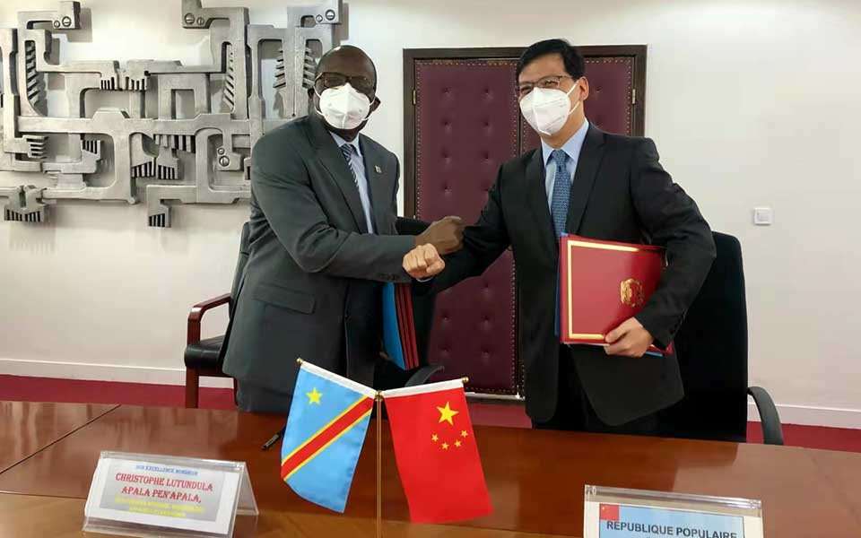 China, DRC Sign Three Agreements to Reduce Debt and Provide New Aid