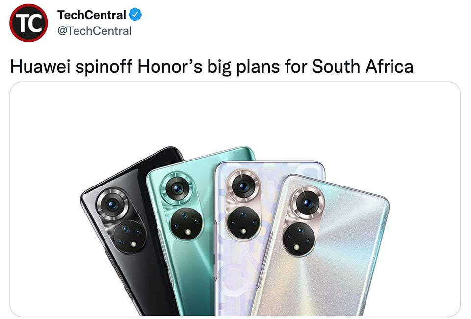 Huawei's Former Premium Smartphone Brand Honor Hopes to Make a Comeback in Africa