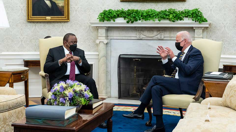 Biden Met With an African Leader Last Week, Didn't Mention China by Name