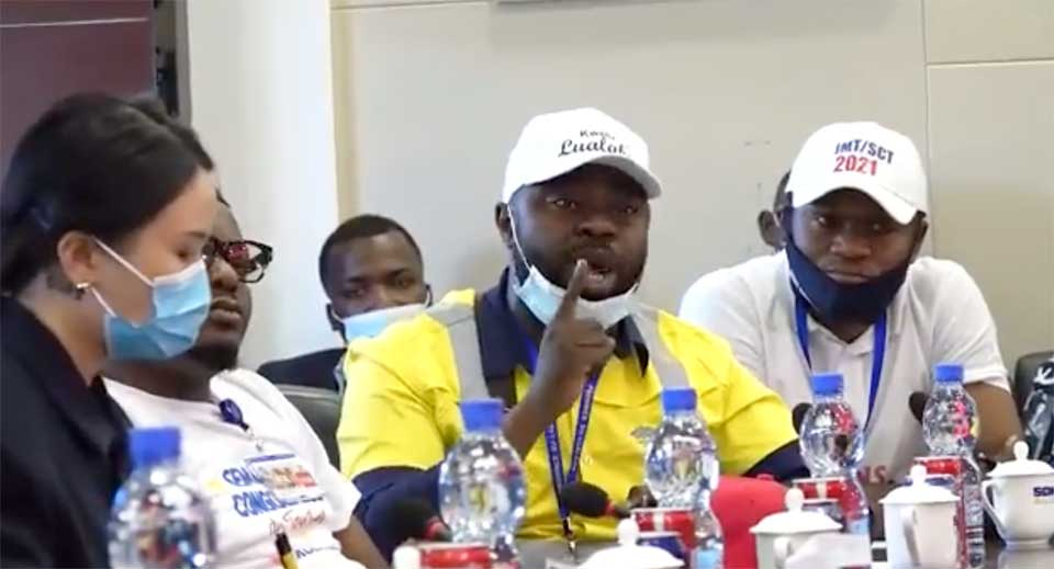 Sicomines Wanted a Dialogue With Congolese Labor Advocates… And They Sure Got an Earful